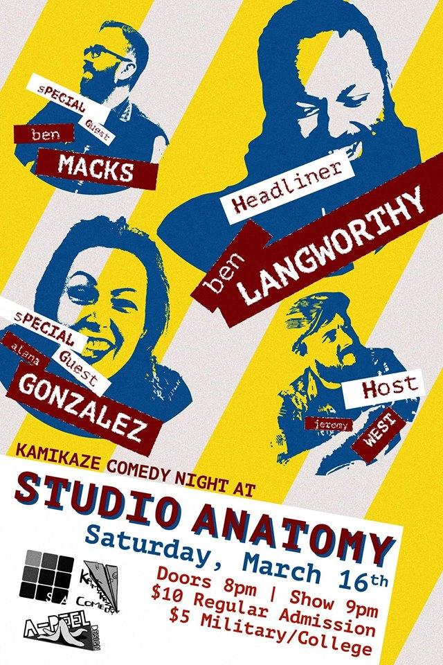 Ben Langworthy @ StudioAnatomy